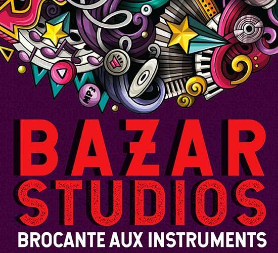 Bazar Studios - Brocante aux instruments